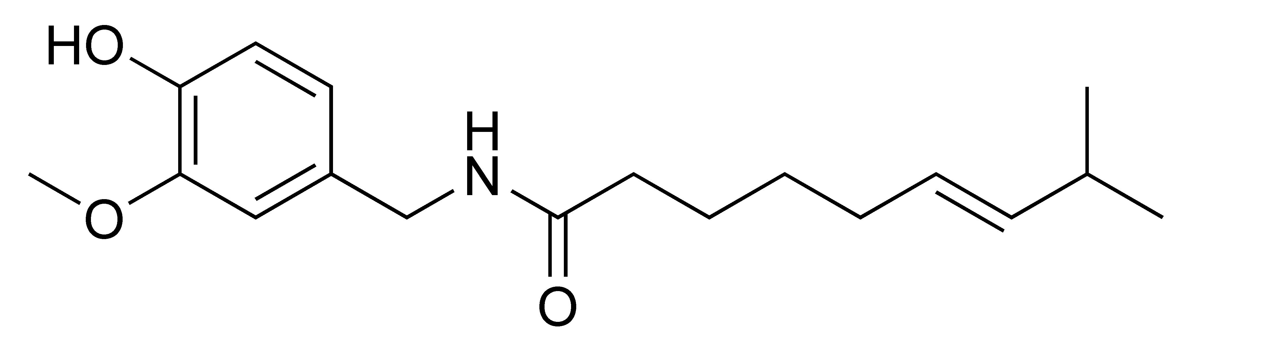 La capsaïcine, molécule piquante