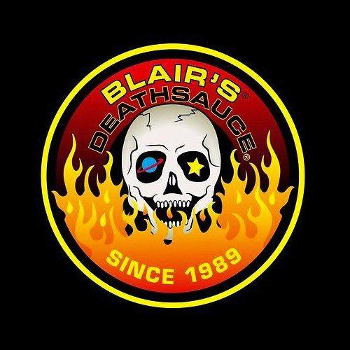 Blair's deathsauce logo