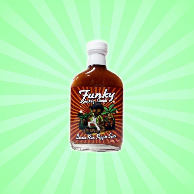 Funky Monkey Sauce Banana Rum Pepper Sauce