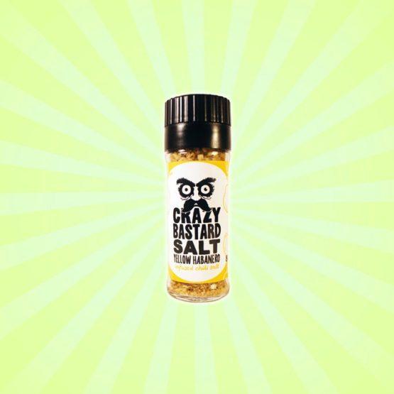 Crazy Bastard Salt Yellow Habanero