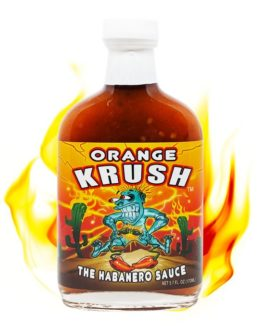 Orange Krush Habanero Sauce