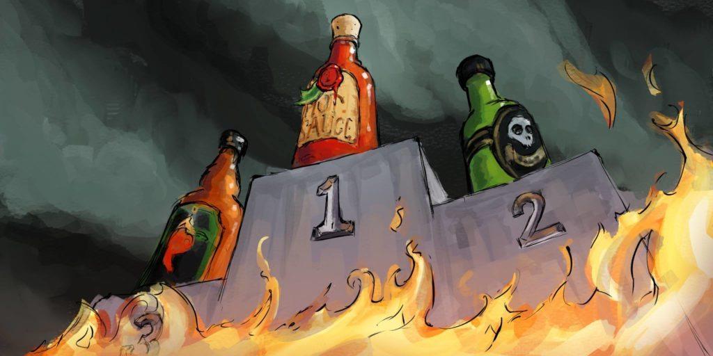Hot Sauce Podium