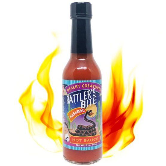 Desert Creatures Rattler's Bite Hot Sauce