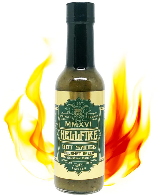 Hellfire Gourmet Green 2016