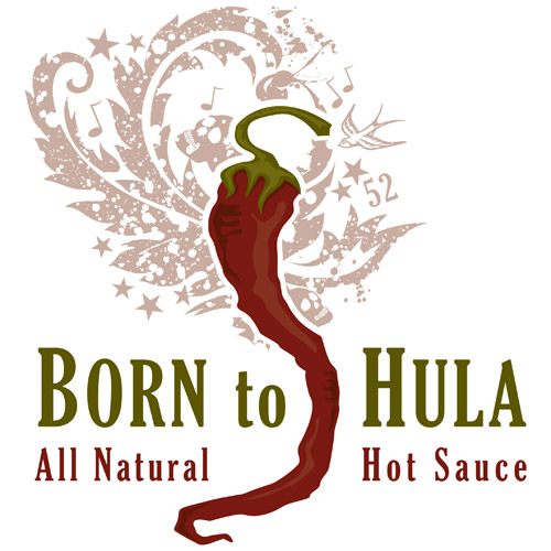 Born to Hula logo