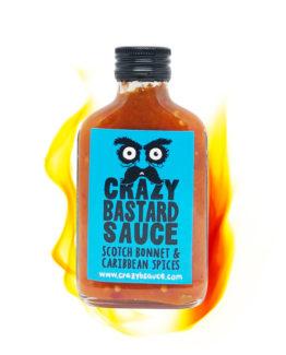 Crazy Bastard Sauce Scotch Bonnet & Caribbean Spices
