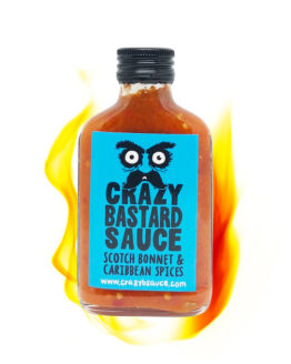 Crazy Bastard Sauce Scotch Bonnet & Caribbean Spices