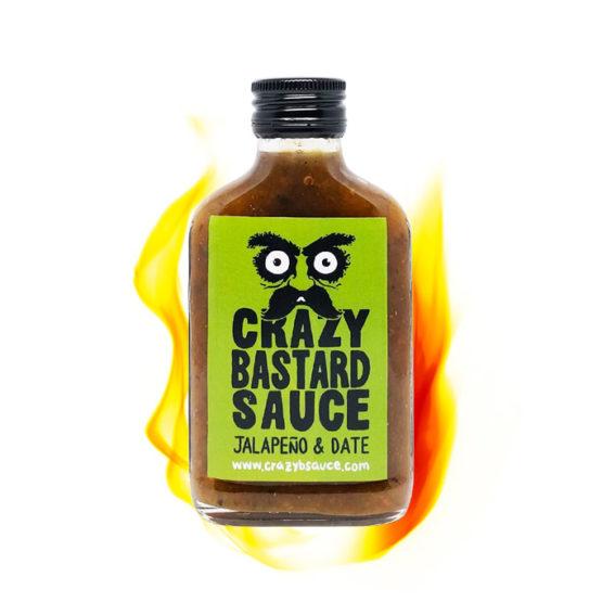 Crazy Bastard Sauce Jalapeno Date