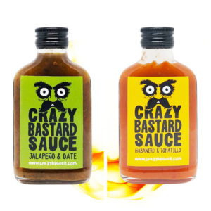 Crazy Bastard Sauce Total Bastard Set