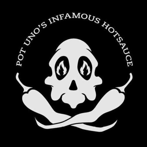 Pot Uno's Infamous Hotsauce logo