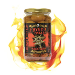 Psycho Juice Pickels Ghost Pepper Onions